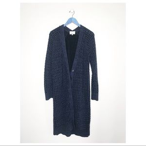 3.1 Phillip Lim Chunky Knit Button Duster Cardigan